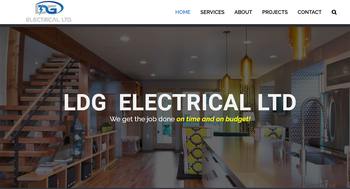 LDG Electrical Home Page